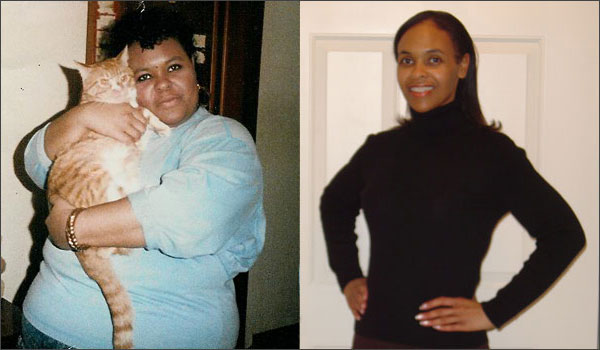 Gina's transformation on raw food diet