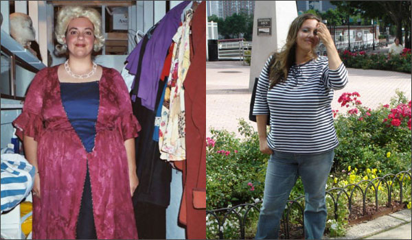 Before and after raw food transformation