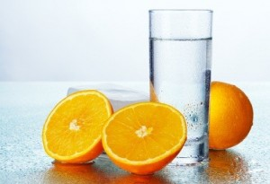Waterful raw food diet