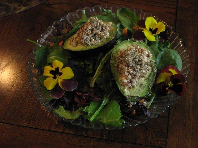 Delicious Hearty Stuffed Avocados