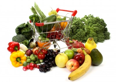 Fruits and Veggies Cart